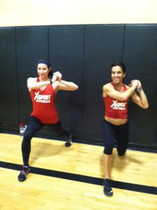 XSport Instructors working out with Jillian Michaels