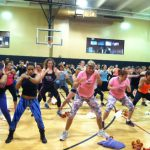 Group working out with Jillian Michaels