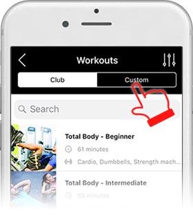 app screen custom