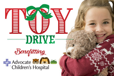 Toy Drive benefitting Advocate Children's Hospital